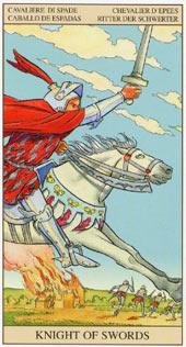 Рыцарь мечей перевернутый таро значение 4 посохов таро значение