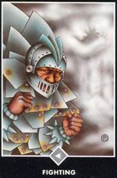 Рыцар Облаков — Борьба