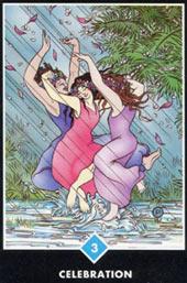 Тройка Воды — Празднование